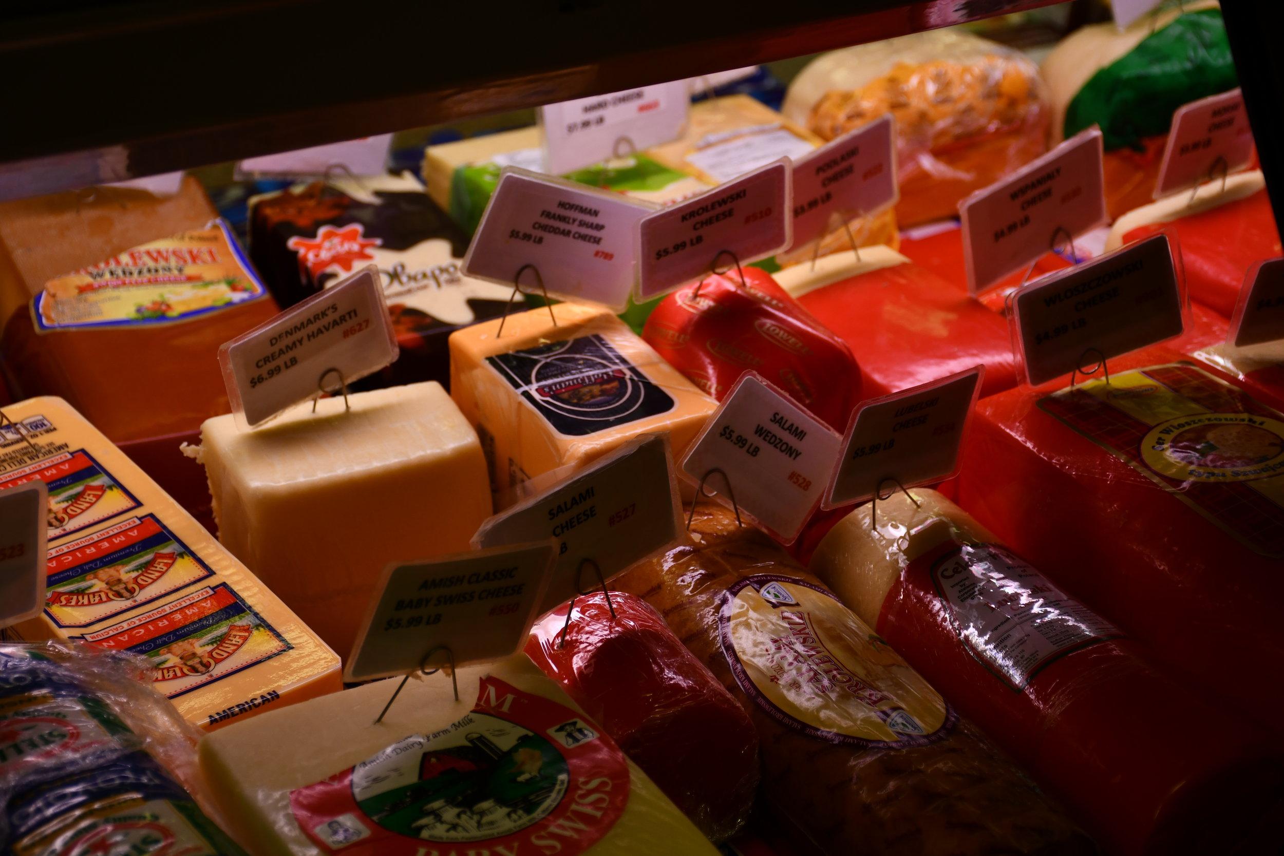 Polish Deli Cheeses | Lassak Market & Deli