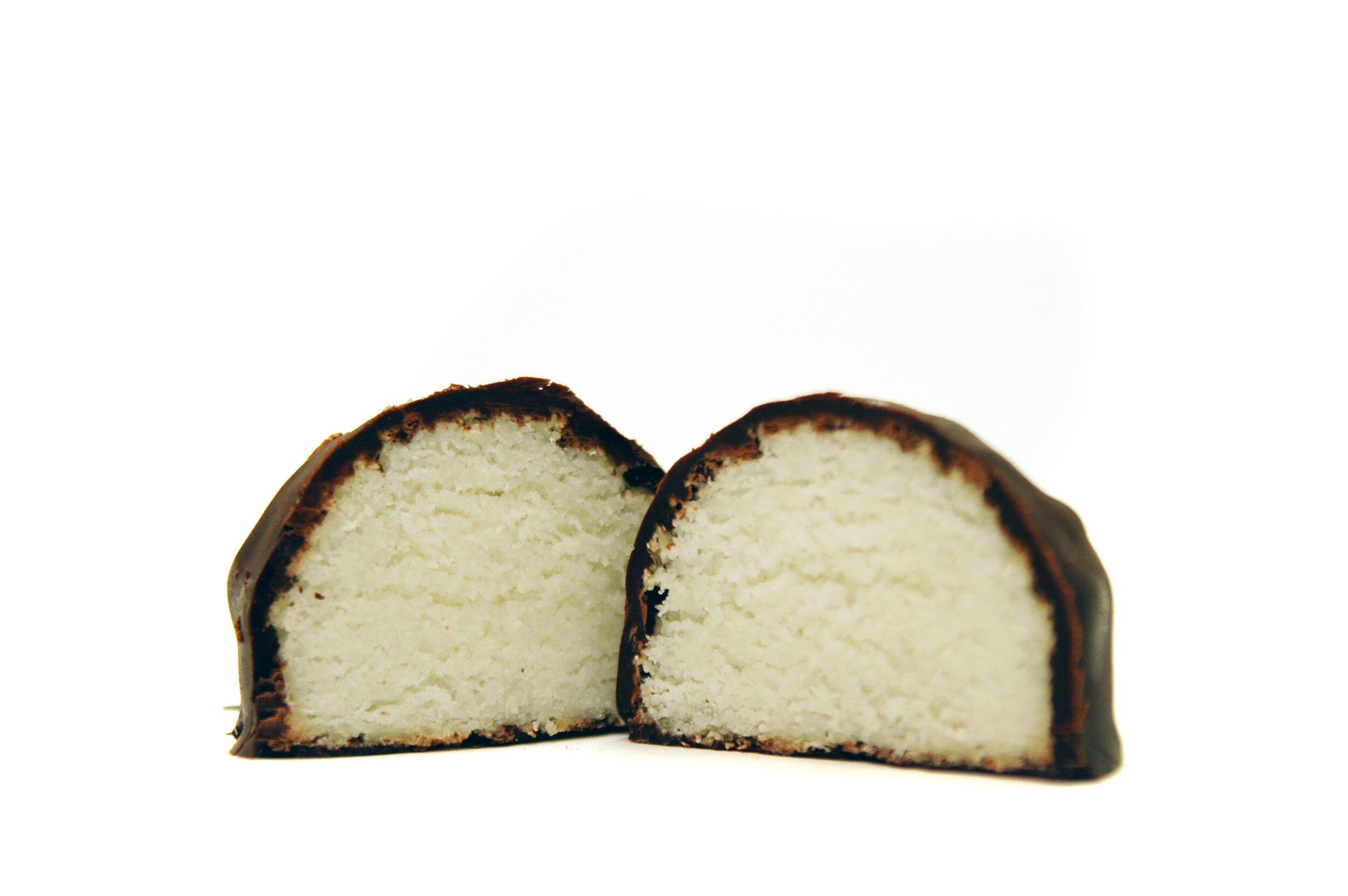 6 X 3 5 Oz Coconut Macaroons Covered In Dark Vegan Chocolate In Gift Box Vintageplantations