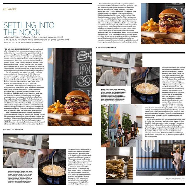 Really nice article by @805living about The Nook! Please have a read! @thenooksb @norbertschulz @aless_g @brigitteguehr