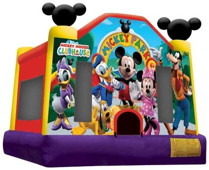 Mickey Mouse and Friends Bounce House Rental