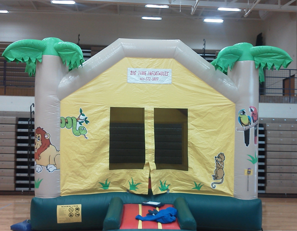 Tropical Bounce House Rental
