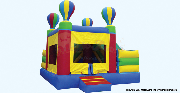 Hot Air Balloon Bounce House Rental