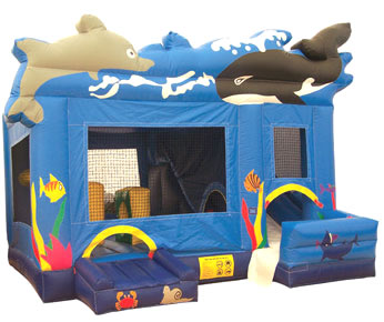 Inflatable Bounce House Combo Rental