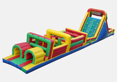 Interactive Obstacle Course Party Rental Montana
