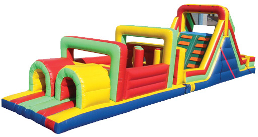 Interactive Party Rental Obstacle Course Montana