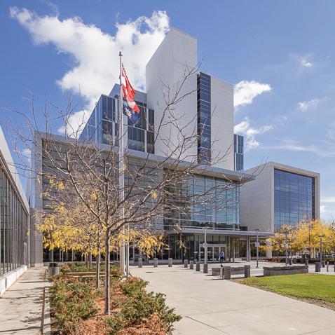 DURHAM CONSOLIDATED COURTHOUSE  Oshawa, Ontario