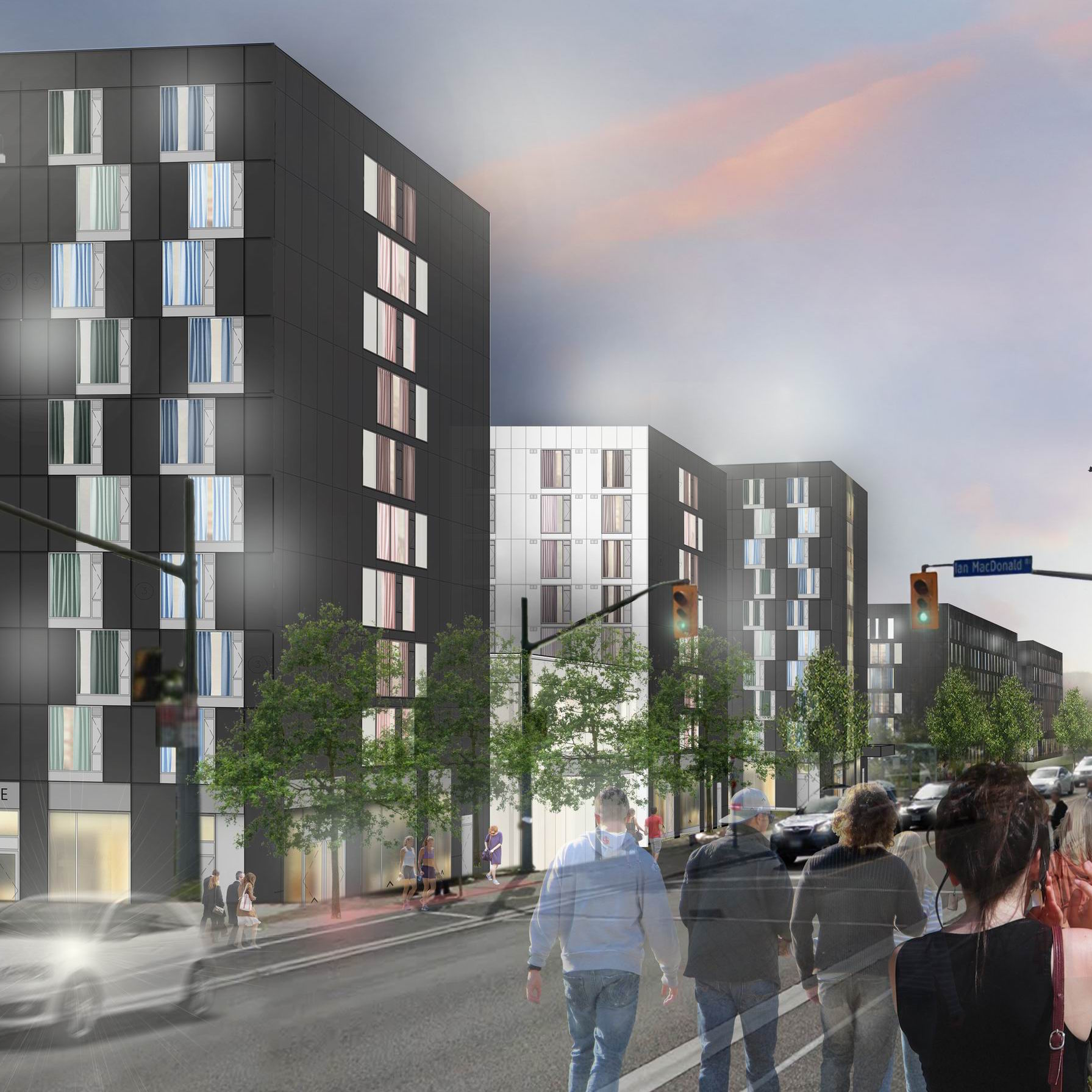YORK UNIVERSITY — QUAD Residence Phase II  Toronto, Ontario