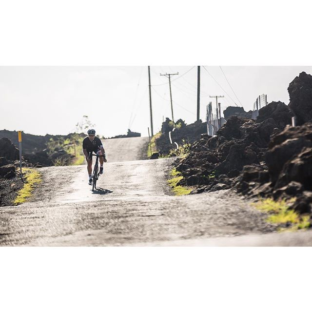 A cycling trip to Maui wouldn't be complete without some riding through lava lined roads #ntsqvelo #ridestayeat 📷: @stirlandraephoto