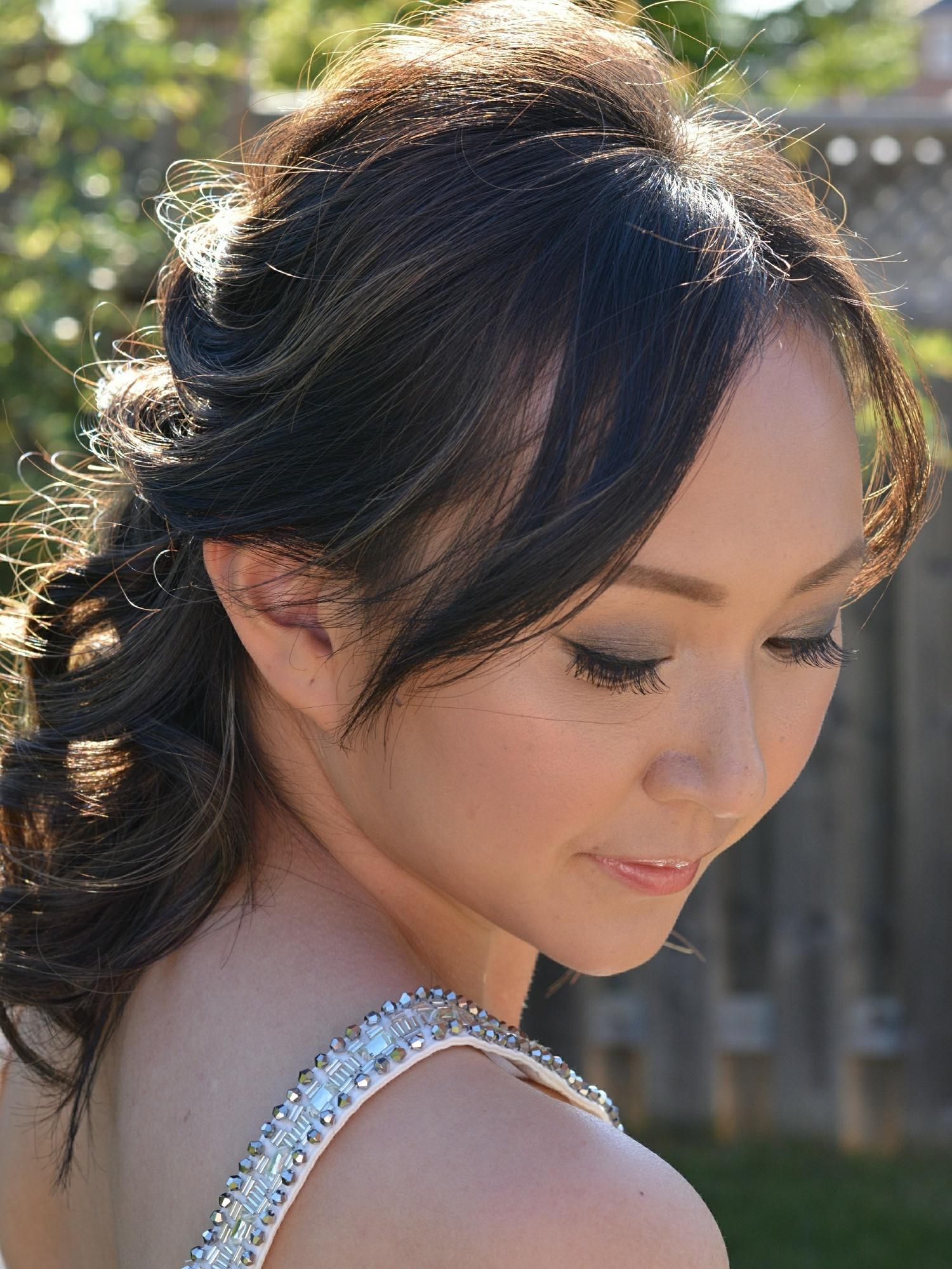 Asian bridal hair and makeup Markham
