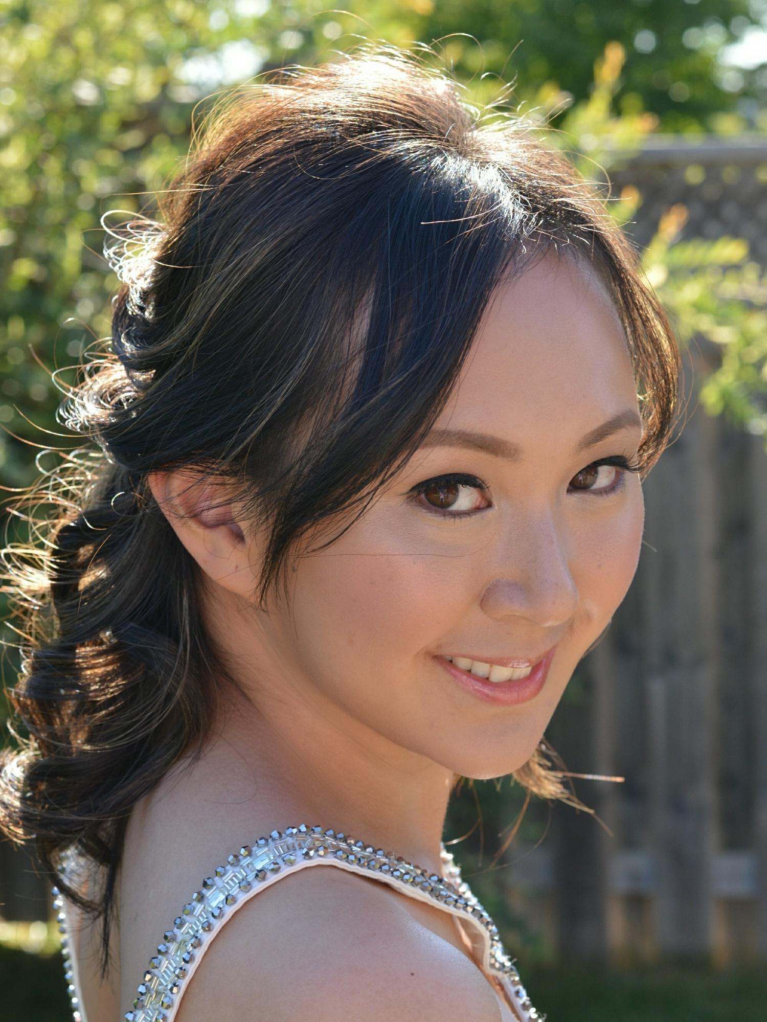 Chinese bride makeup and hair Toronto