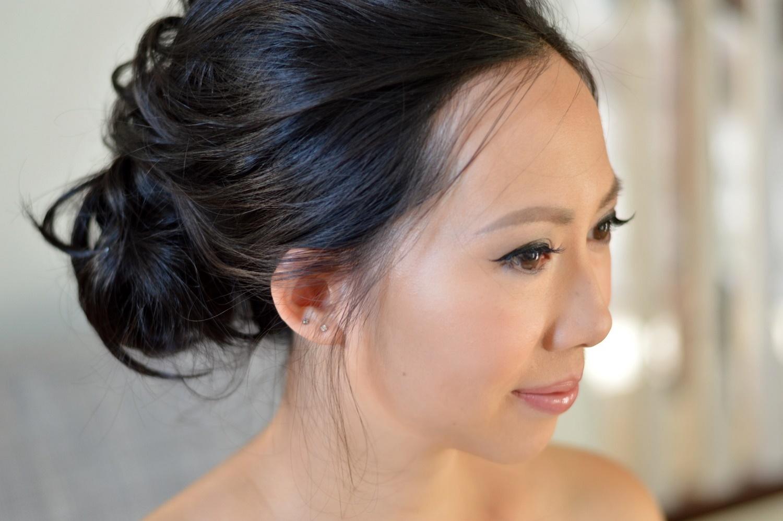 Chinese bridal hair and makeup Markham Toronto