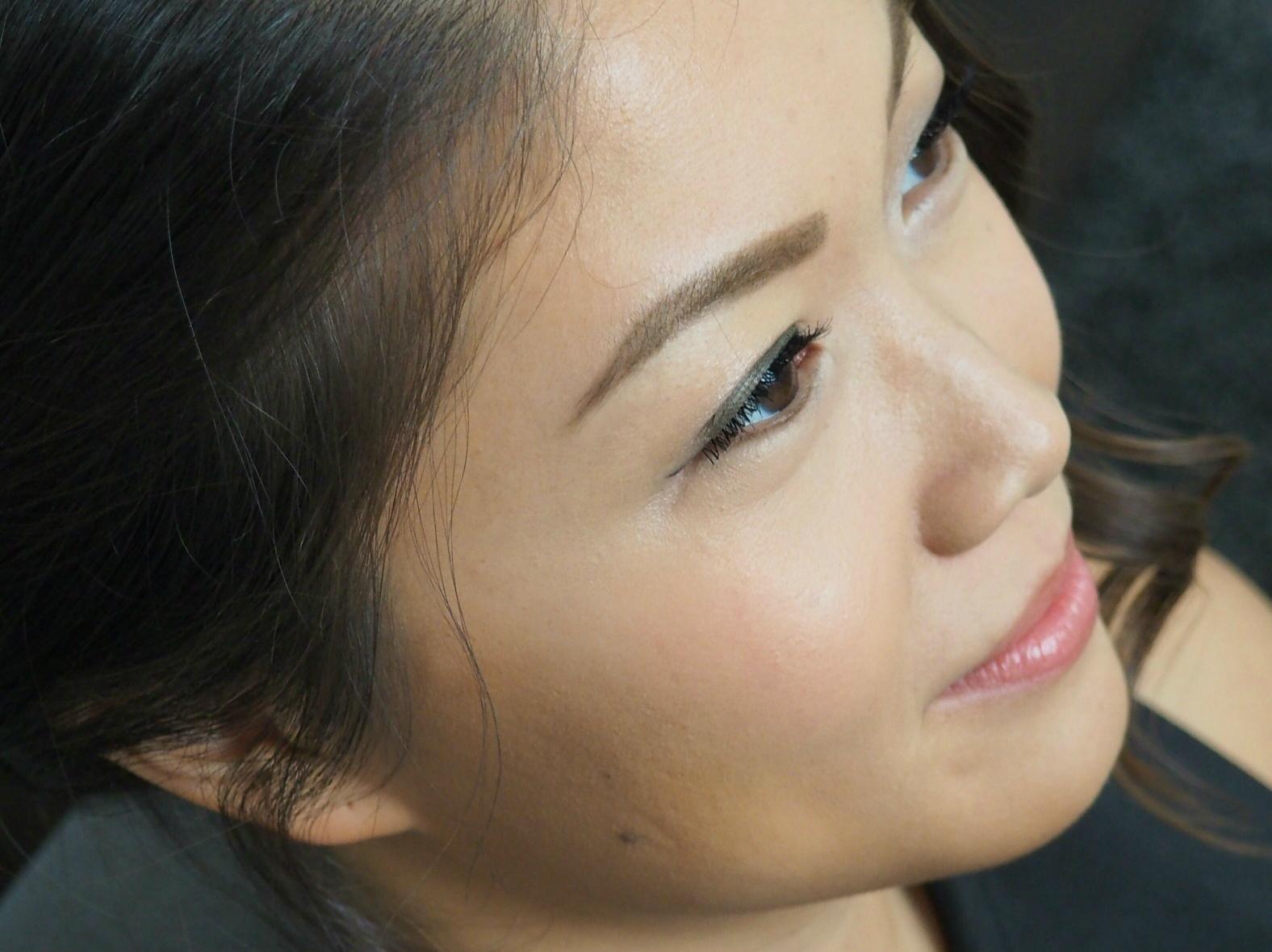Korean monolid single eyelid tape makeup