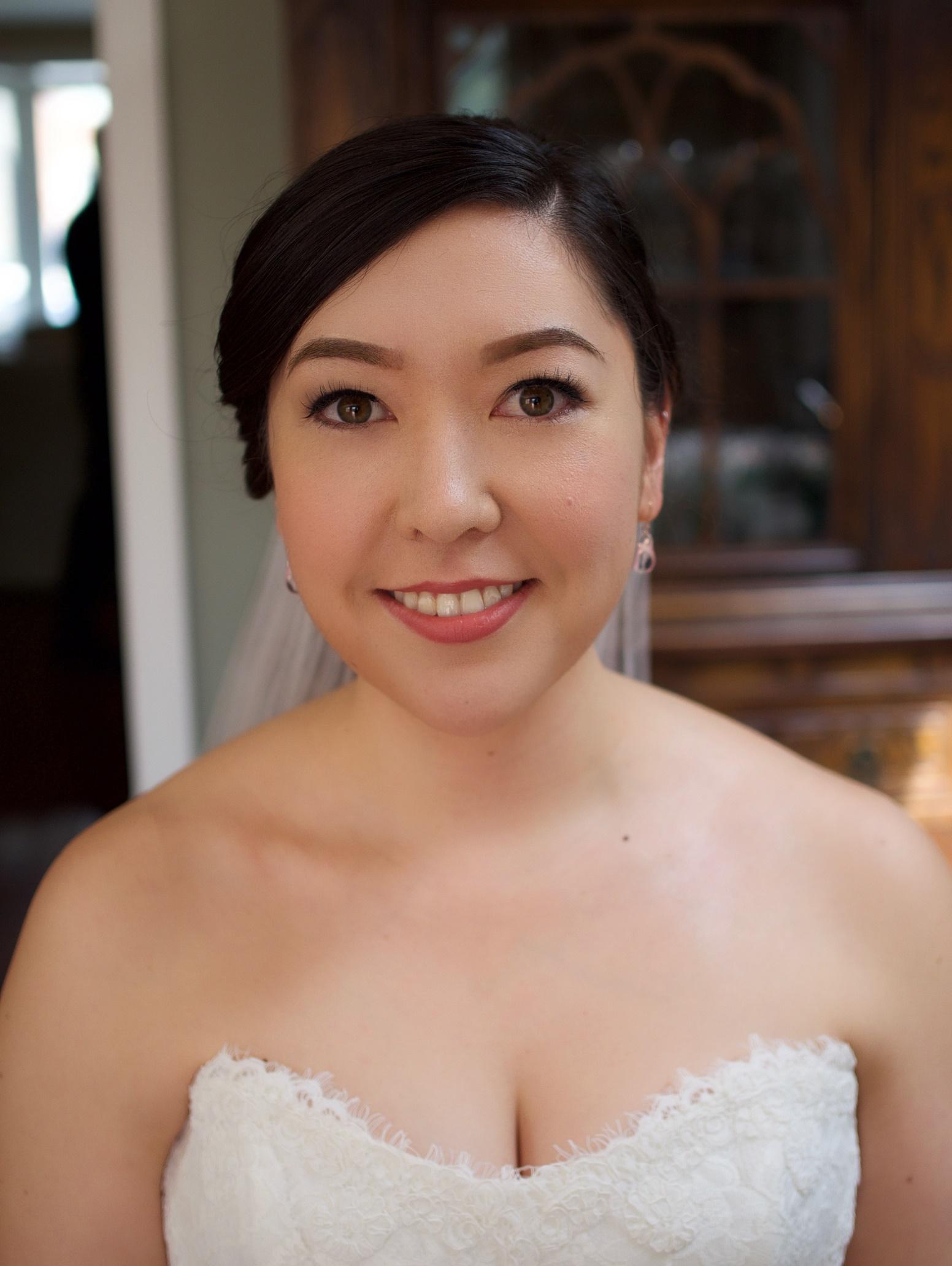 Toronto Japanese bridal makeup