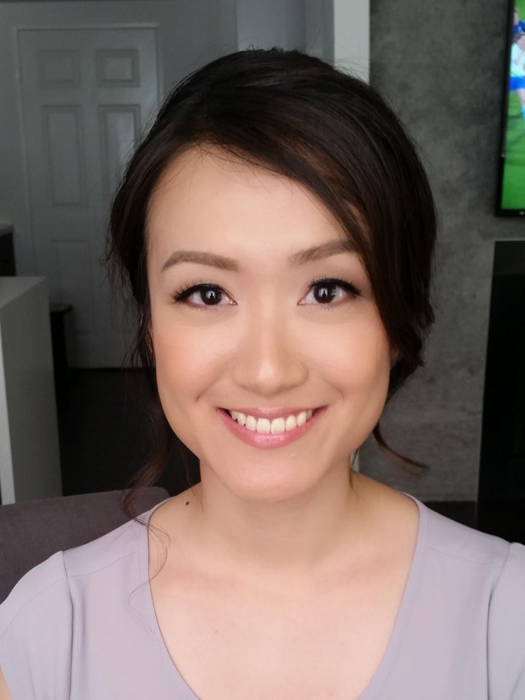 Toronto Chinese bridal makeup artist