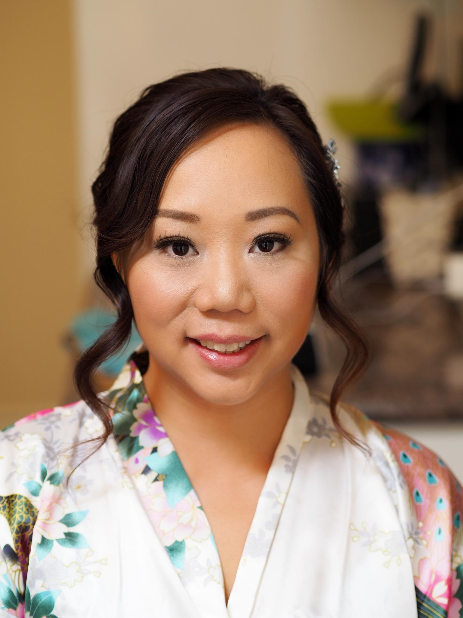 Natural wedding makeup Toronto