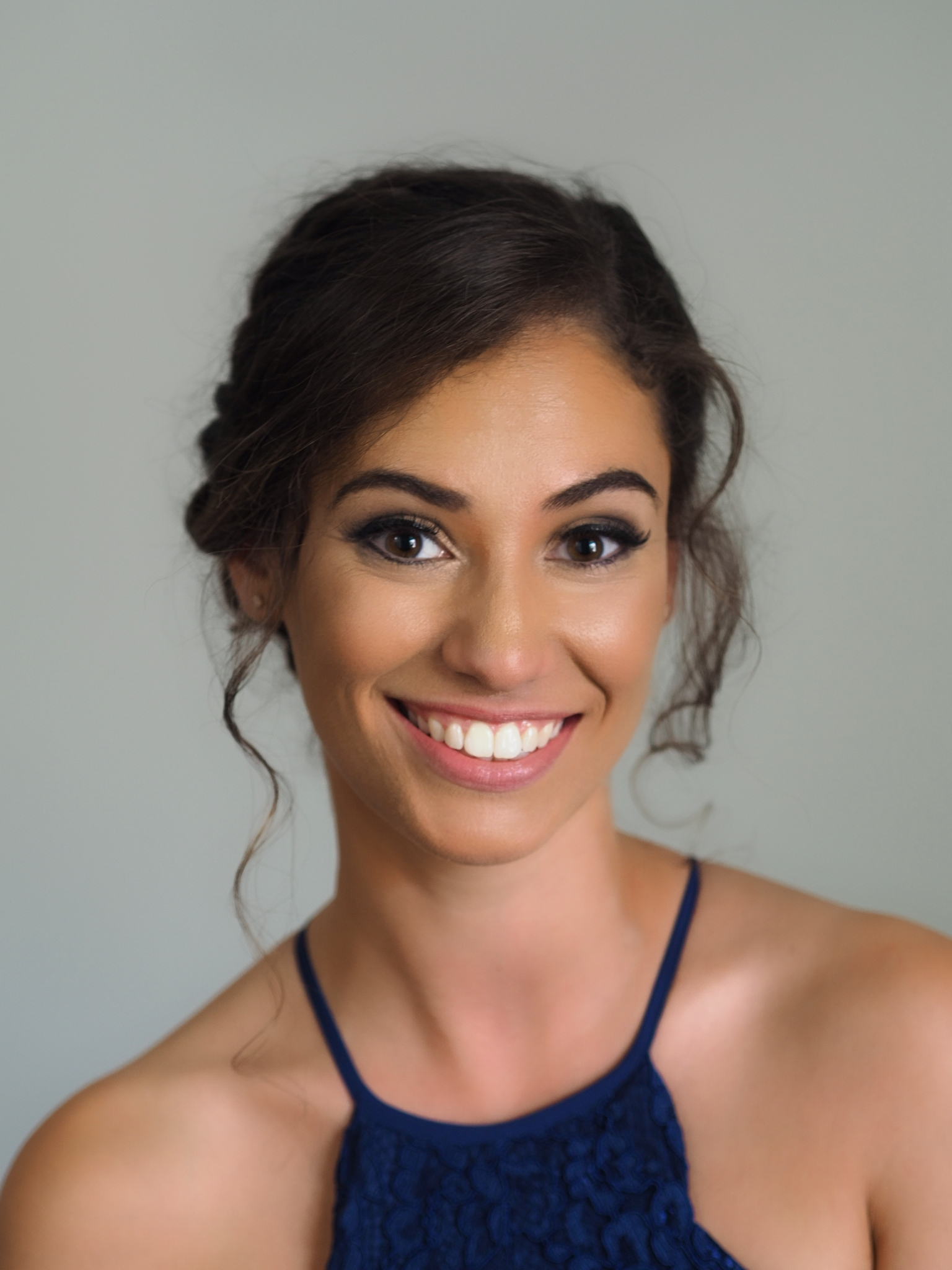 Toronto makeup artist bridesmaid smokey eyes