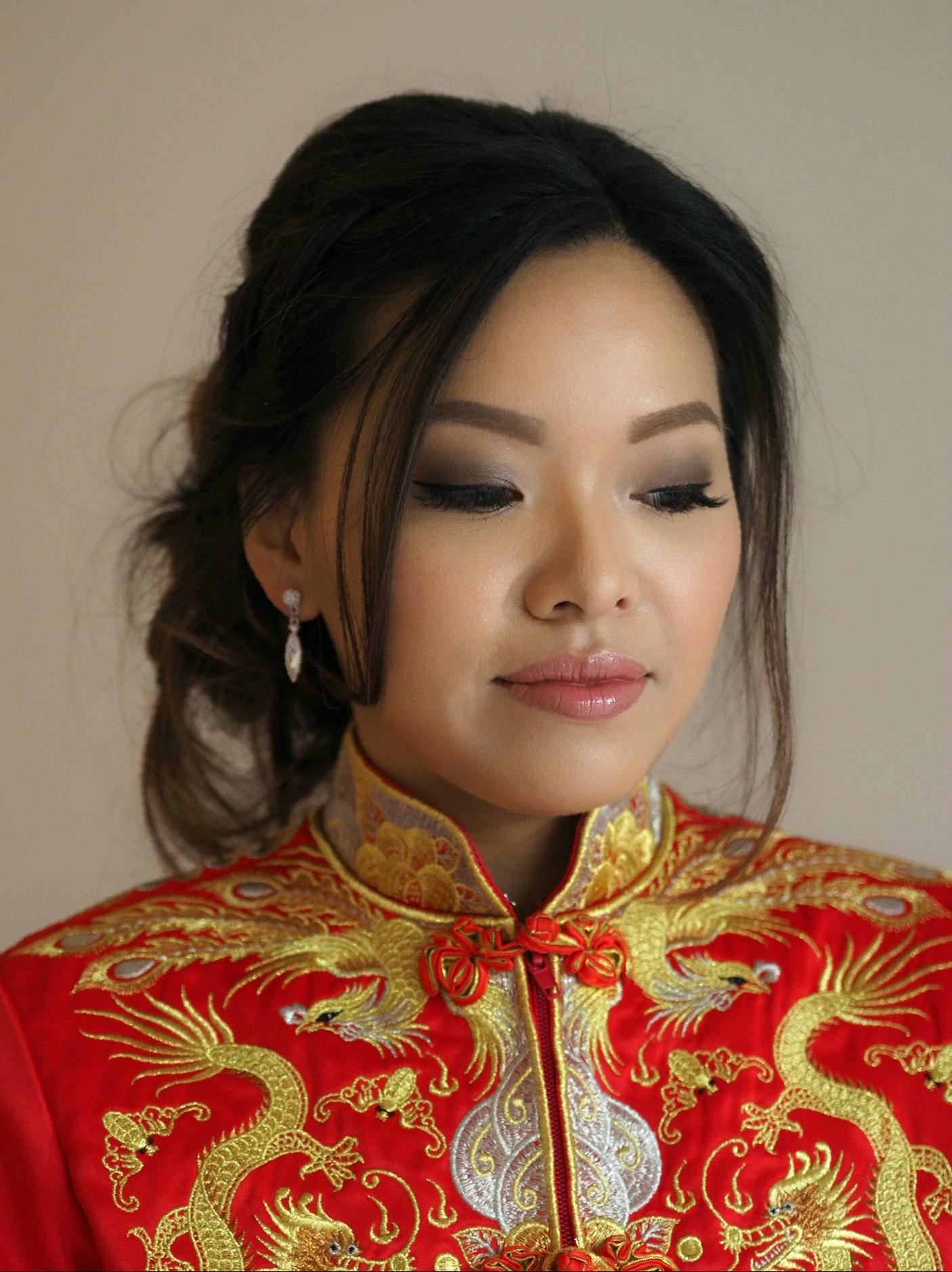 Chinese bride wedding Toronto Markham