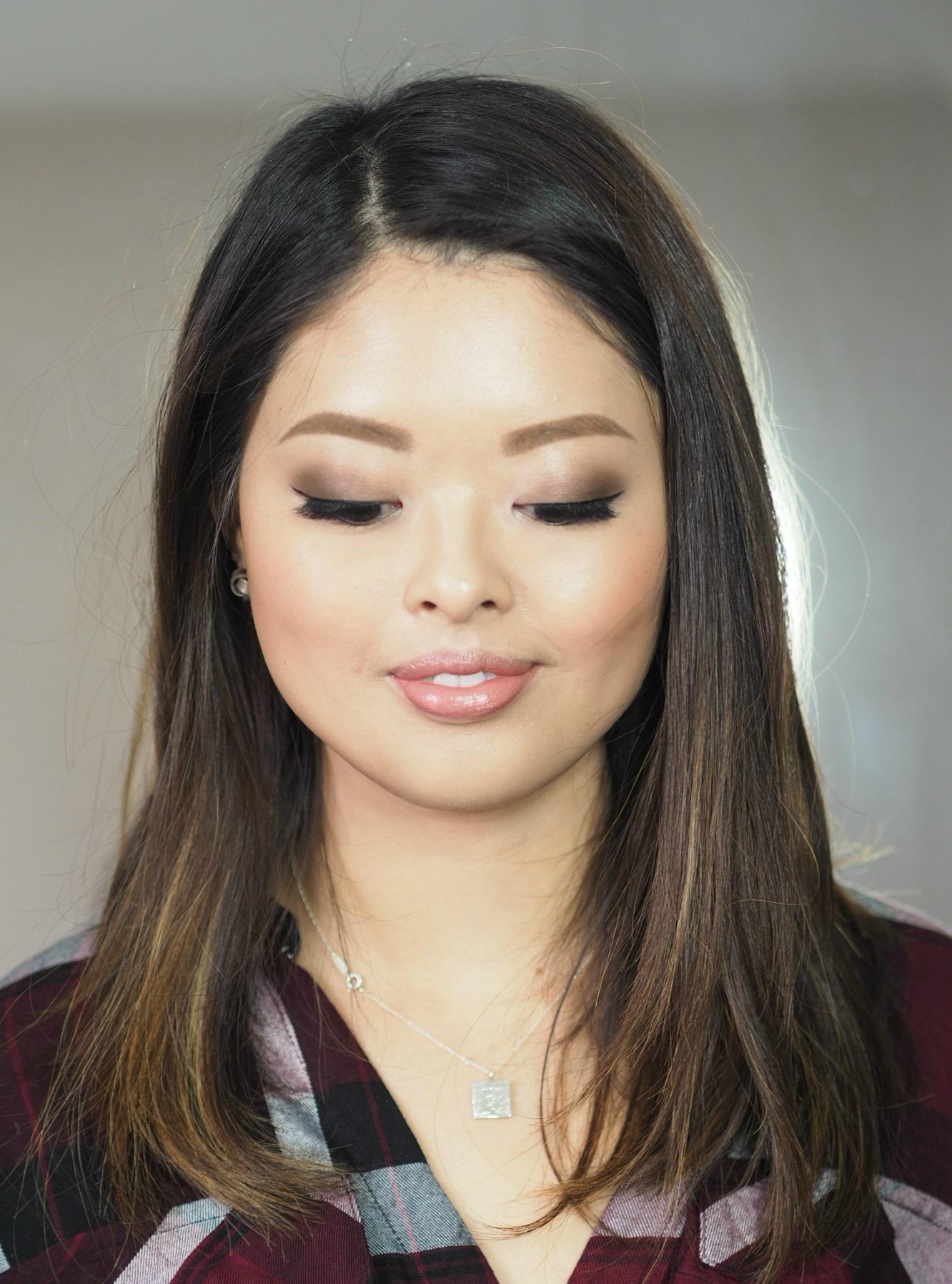 Smokey eyes Asian makeup