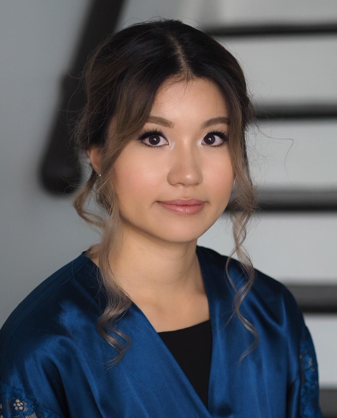 Vietnamese makeup Toronto bridesmaid