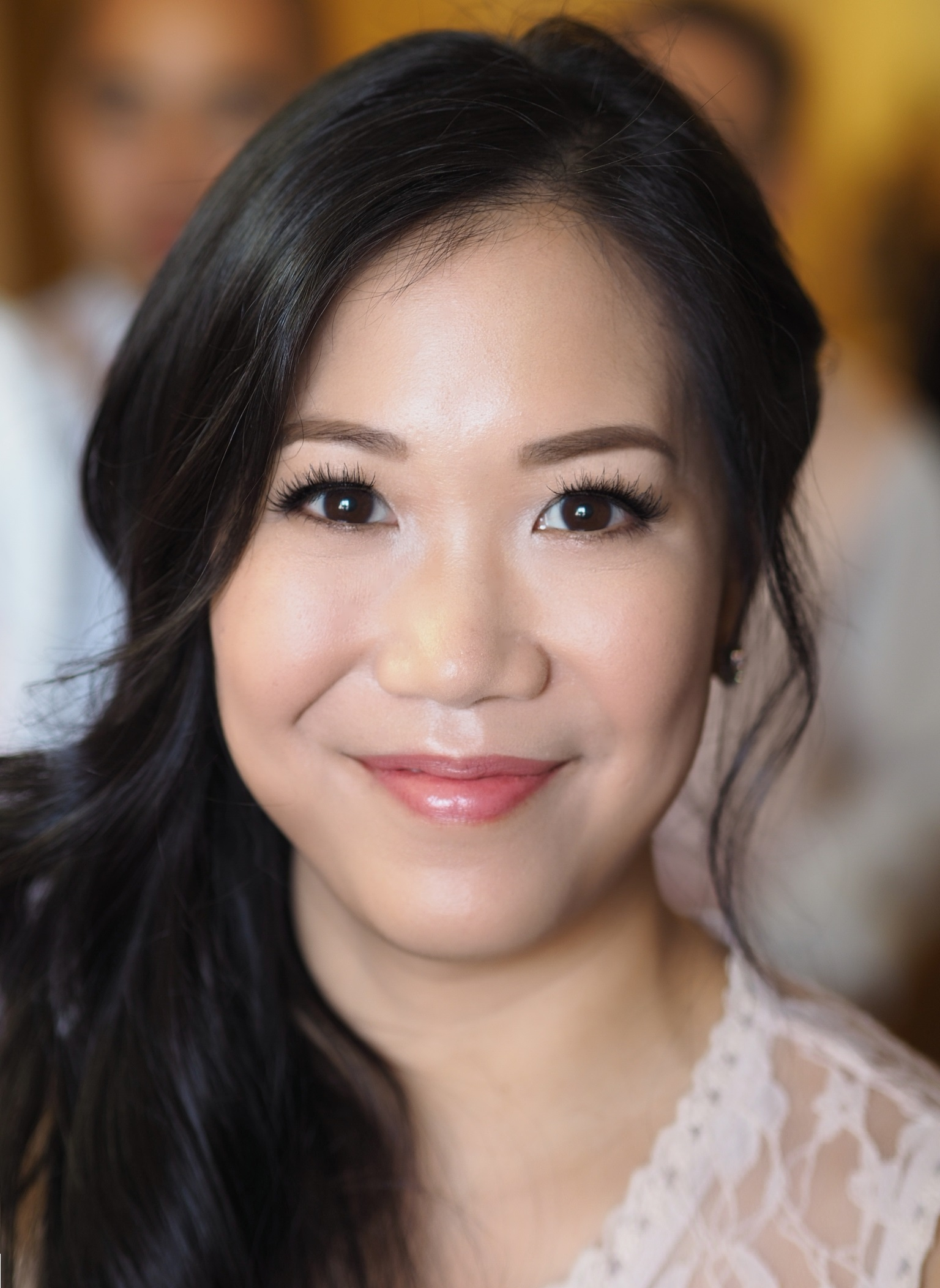Bridesmaid makeup Asian eyes