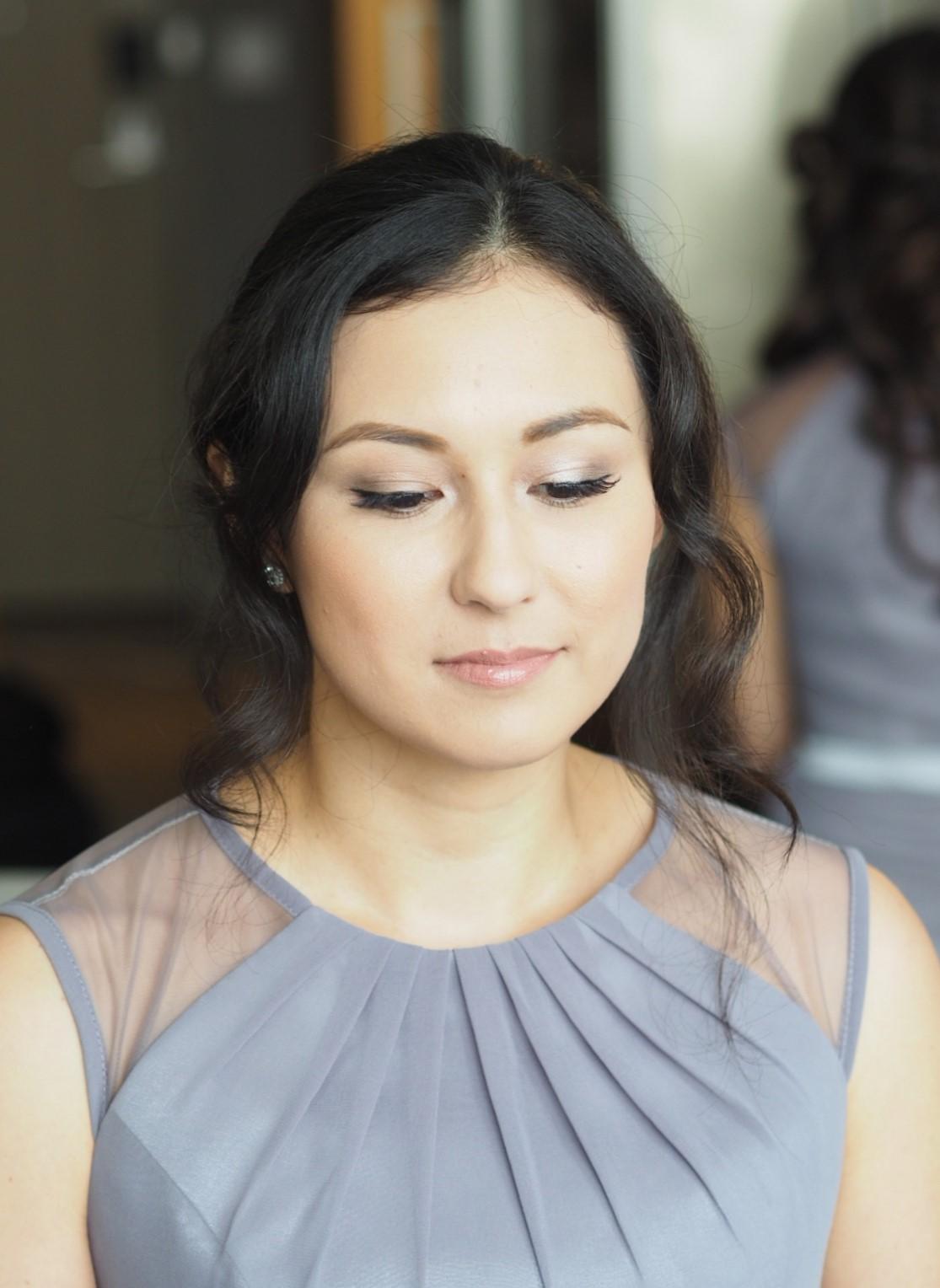 Downtown Toronto wedding makeup