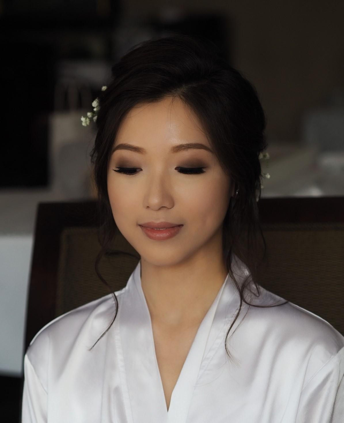 bridal makeup Taiwanese Japanese style
