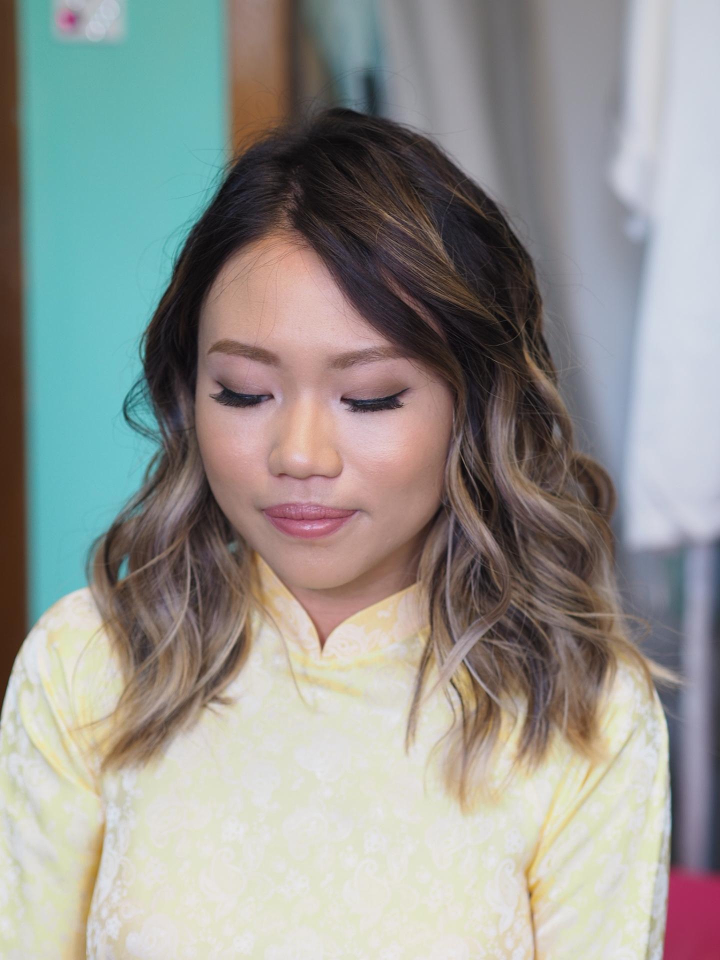 natural Asian makeup wedding Mississauga