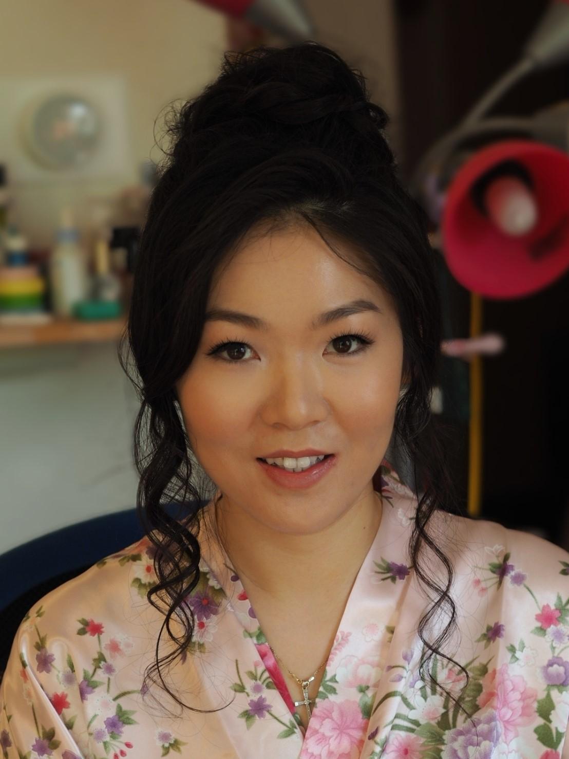 natural makeup lash extensions