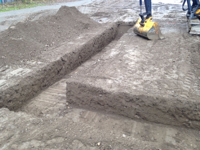 STRIP OR PERIMETER FOOTING EXCAVATION