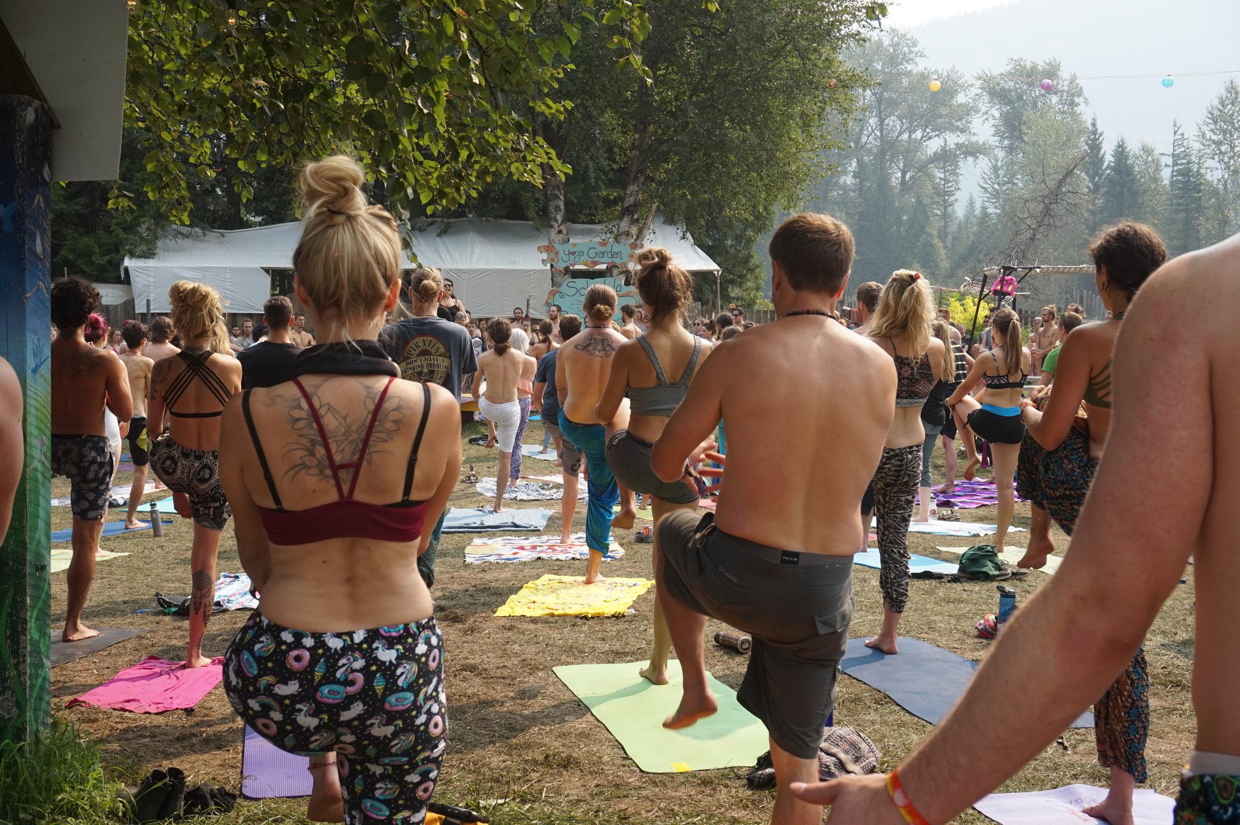 yoga at shambhala