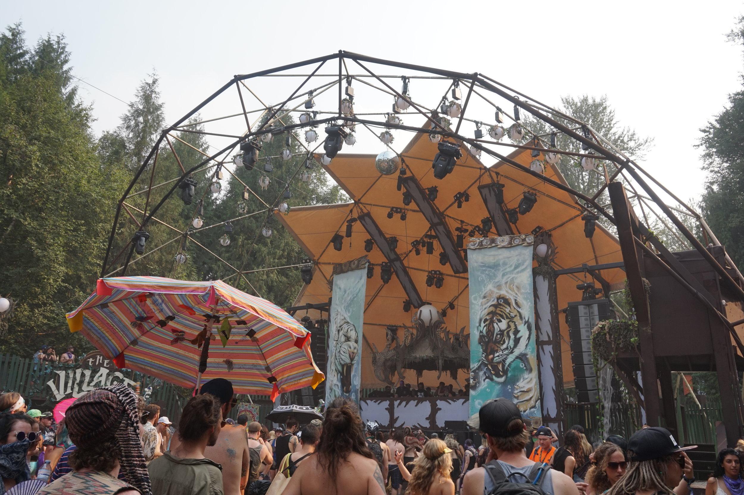 The Village Stage Shambhala