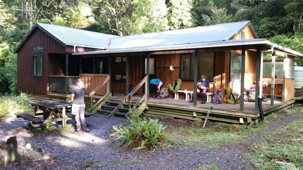 easy: fully insulated and double-glazed, the modernised Atiwhakatu Hut in Tararua Forest Park is an excellent entry-level hut for an overnighter in the bush.