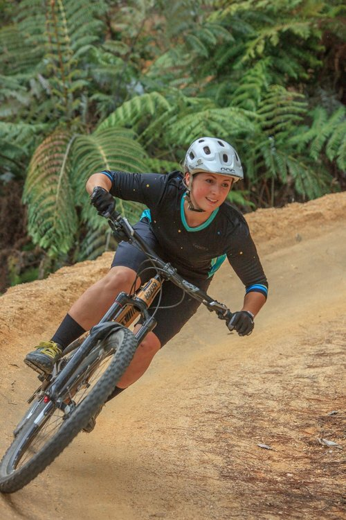 Alice Baker - Senior Coach and the Krankin Kids social media guru. Say hello to Alice over at Instagram 😀Alice is motivated by seeing the incredible progression of riders in the course. Alice loves to ride all over Nelson, and tries to challenge herself on a regular basis. The overall growth of mountain biking in Nelson is something Alice feels passionate about, and wants to encourage as much as possible, but especially for female and younger riders. Alice usually coaches on a Tuesday or Wednesday night in Nelson and Monday in Kaiteriteri.Qualifications:PMBIA Level 1 PHEC