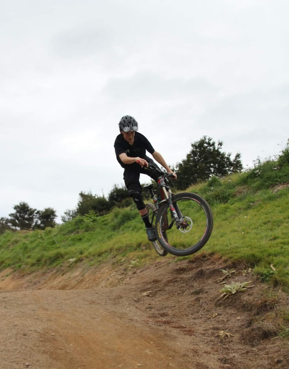 Jack McAlpine - Junior CoachJack has been with Krankin Kids since the beginning. Any spare time he has you will find him on his bike ripping up the trails. Jack has a real love of downhill racing and loves sharing his knowledge and tricks with younger riders. It it great to have Jack join the coaching team, sharing what he has learnt and continues to learn.