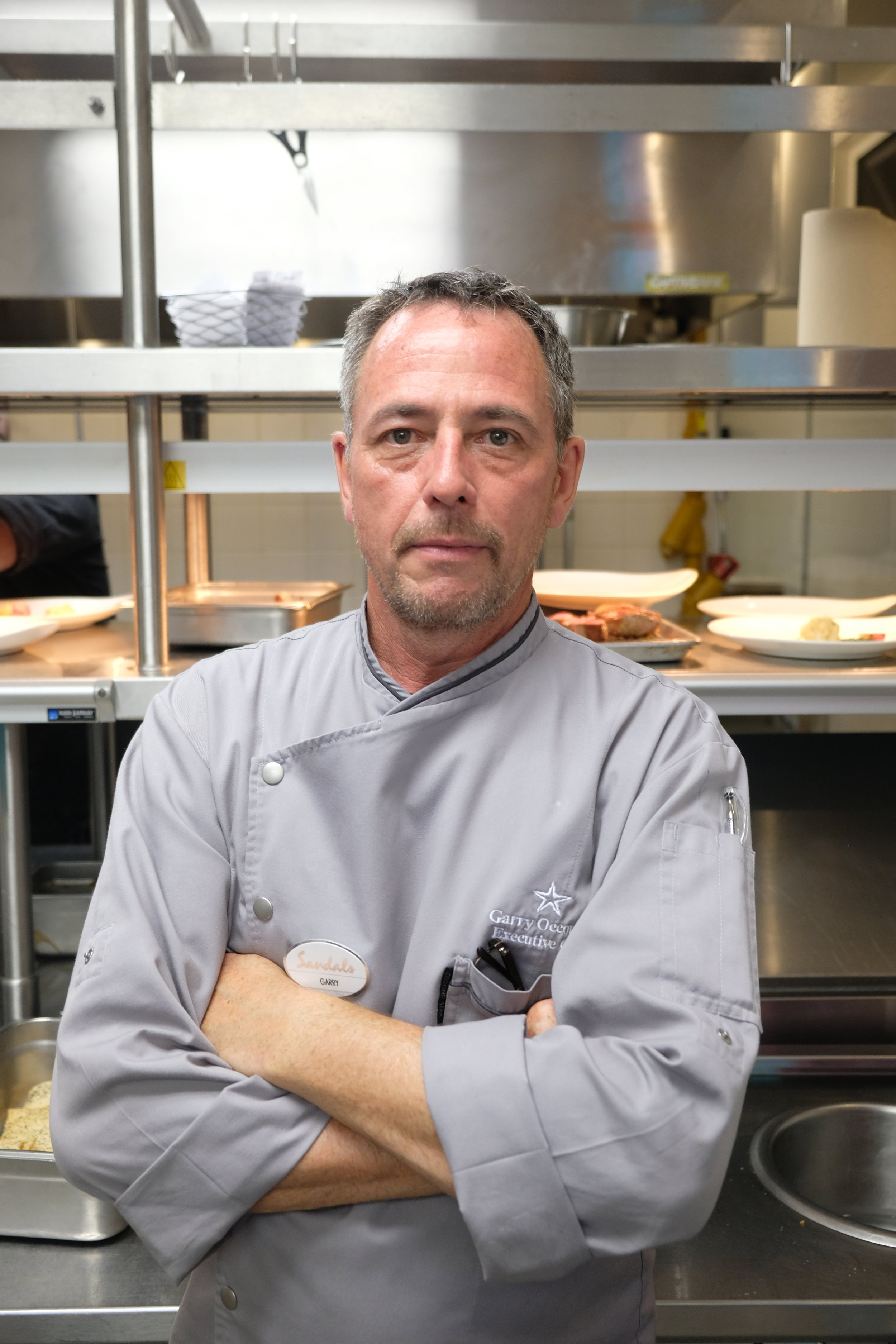 Executive Chef Garry O'Connor