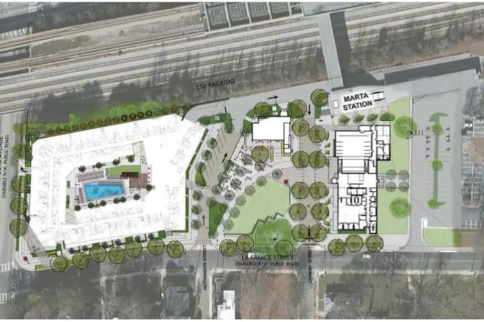 Edgewood / Candler Park Transit Oriented Development  Picture Credit: MARTA