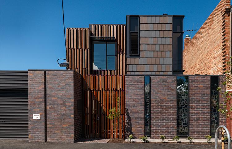 Fitzroy North Home - Grampian Blue bricksMORE