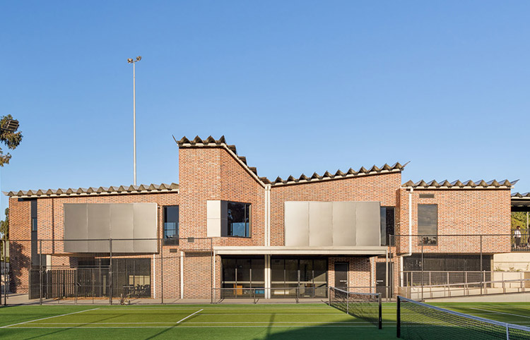 Balwyn Park Tennis Club - Grampian Blue bricksMORE