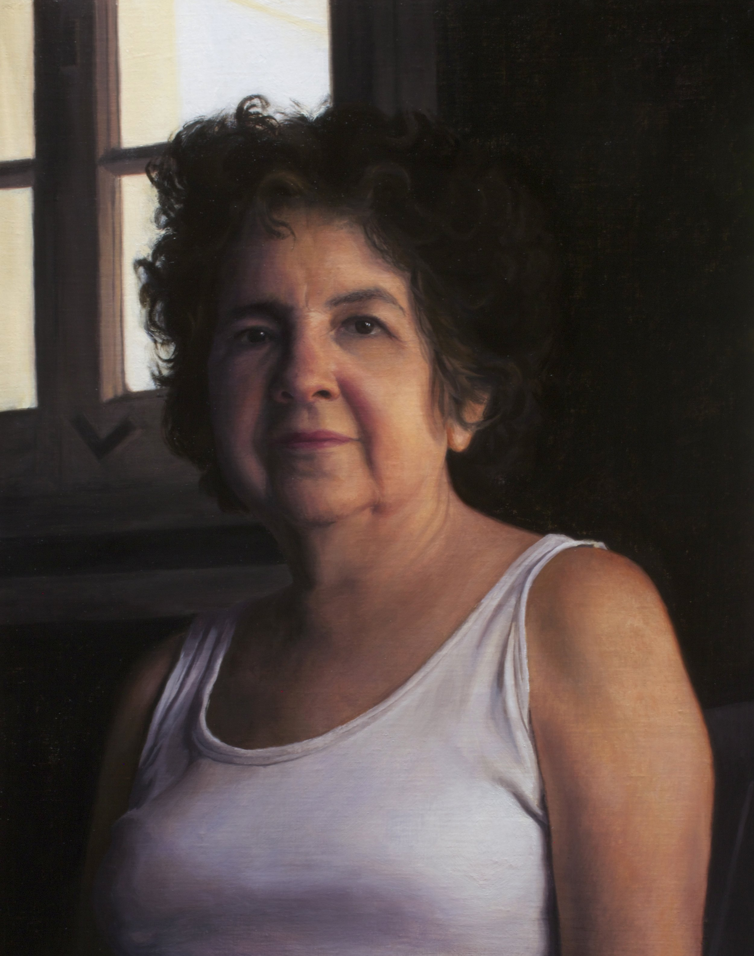 Mazatleca, oil on canvas, 2016