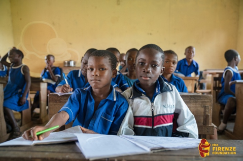 The Firenze Foundation supports rural children and refugee camps in Ghana