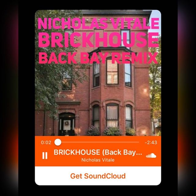 BRICKHOUSE [Back Bay Remix] OUT 10/1 🍁 Thank You Soundcloud & Bandcamp for being the PRE-RELEASE STARS⭐️💫🥂!! Link In Profile. Stream Nicholas Vitale on #soundcloud #bandcamp #kkbox風雲榜 #iheartradio #spotify etc!!🕺#stars #boston #bostonusa #musician #songwriter #songwriterslife #backbay #brickhouse  SONG Ingredients ➡️#fenwaypark #dunkindonuts & #narragansettbay #eastcoast #eastcoastvibes #dj #remix #recordproducer #hollywood #gratitude #thanks #newmusic #life
