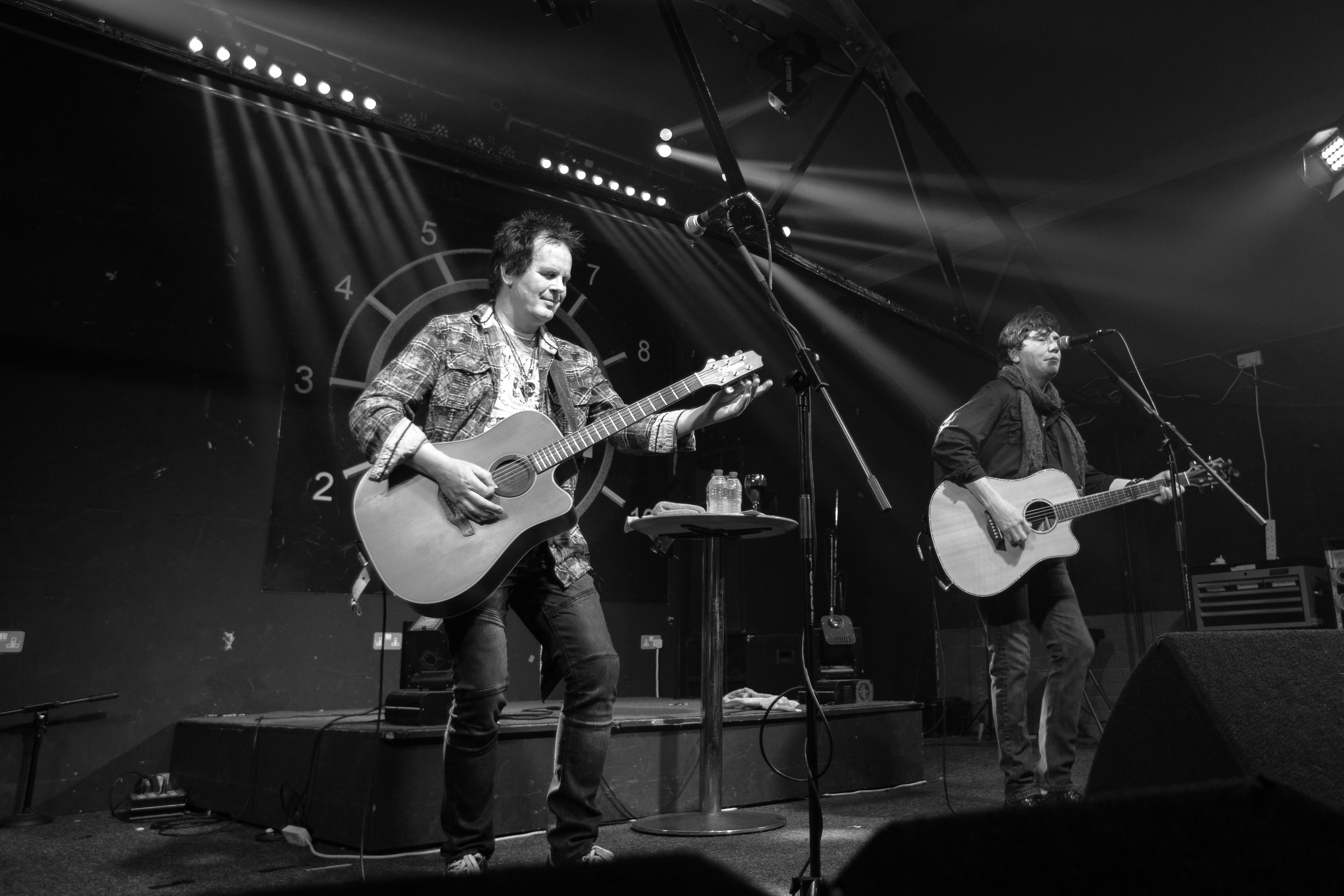 Eric Martin and Dave Cotterill live at Eleven in Stoke-On-Trent on October 30th 2018. ©Judith Hadfield