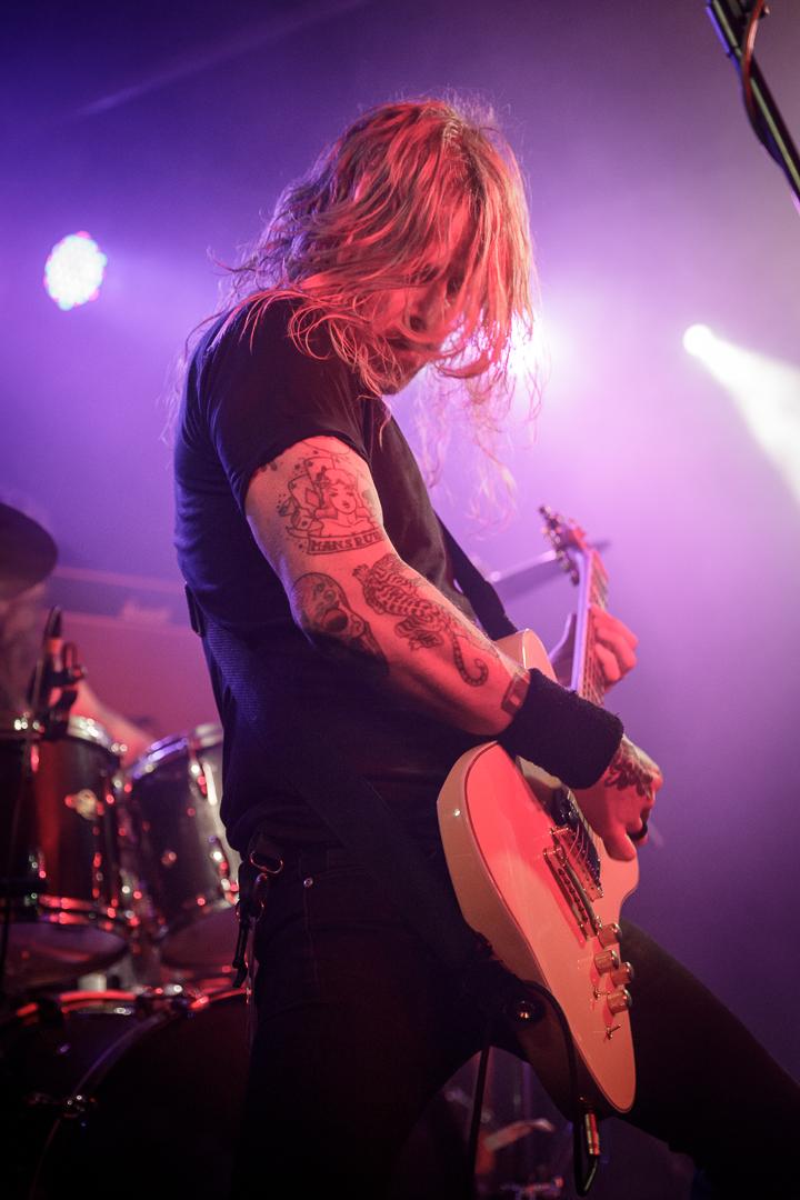 Bombus live at the Academy 3 in Manchester on December 6th 2018. ©Johann Wierzbicki | ROCKFLESH