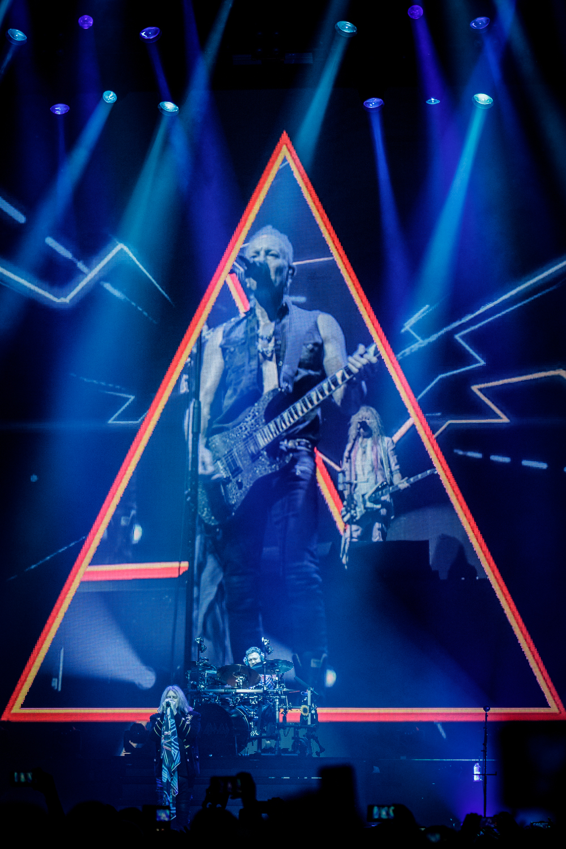 Def Leppard live at the Echo Arena in Liverpool on December 15th 2018. ©Johann Wierzbicki | ROCKFLESH