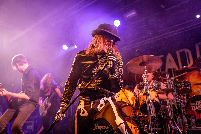 Massive Wagons live at the O2 Academy in Liverpool on November 13th 2018. ©Johann Wierzbicki | ROCKFLESH