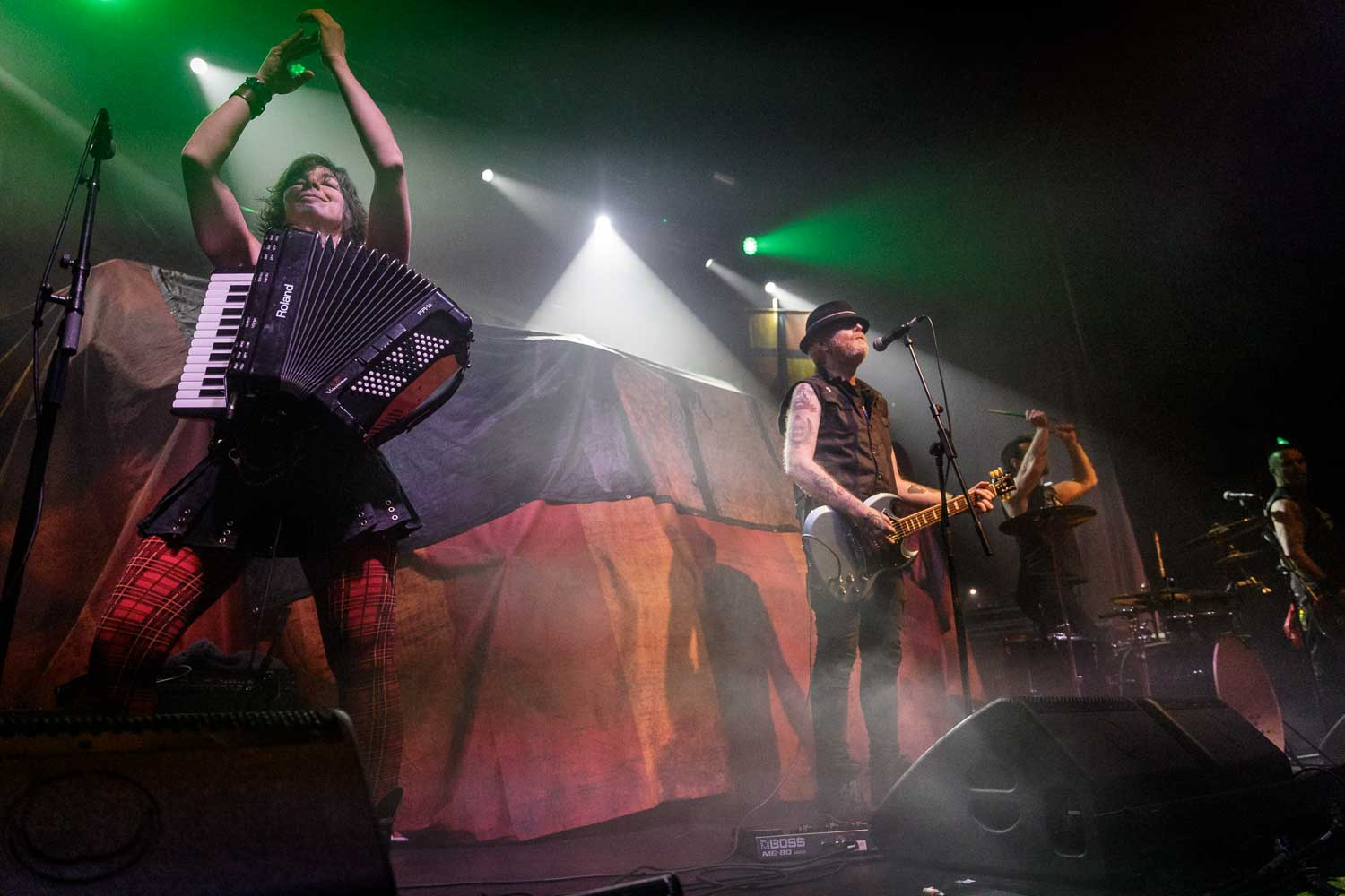 The Mahones live at O2 Ritz in Manchester on January 18th 2019. ©Johann Wierzbicki | ROCKFLESH