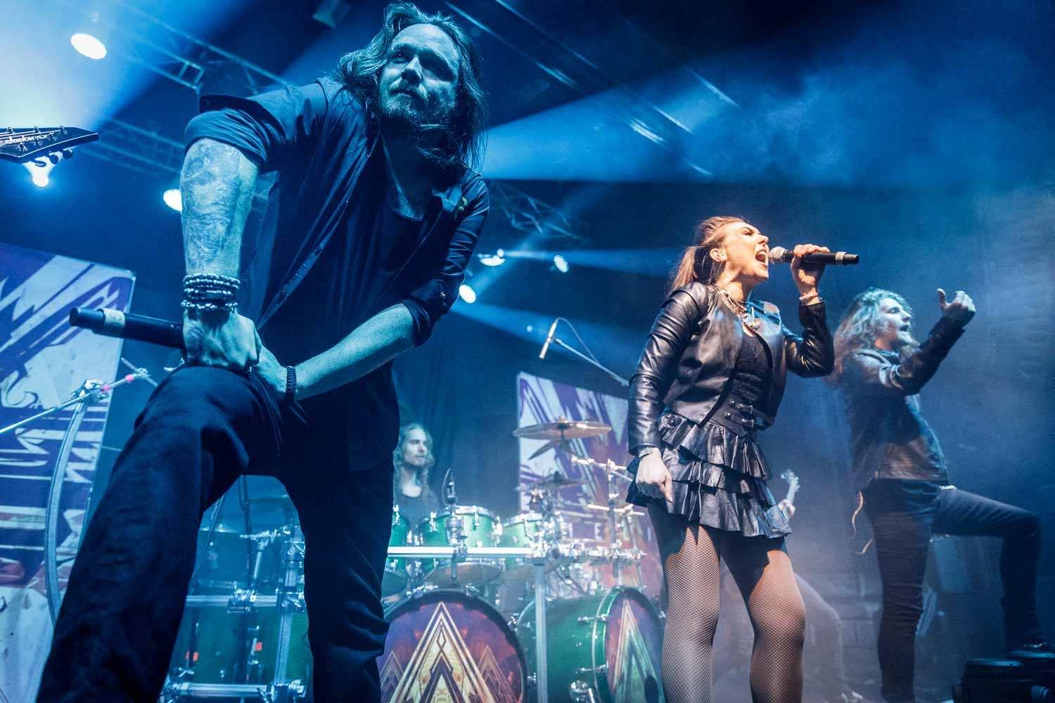 Amaranthe live at Academy 2 in Manchester on January 19th 2019. ©Johann Wierzbicki | ROCKFLESH