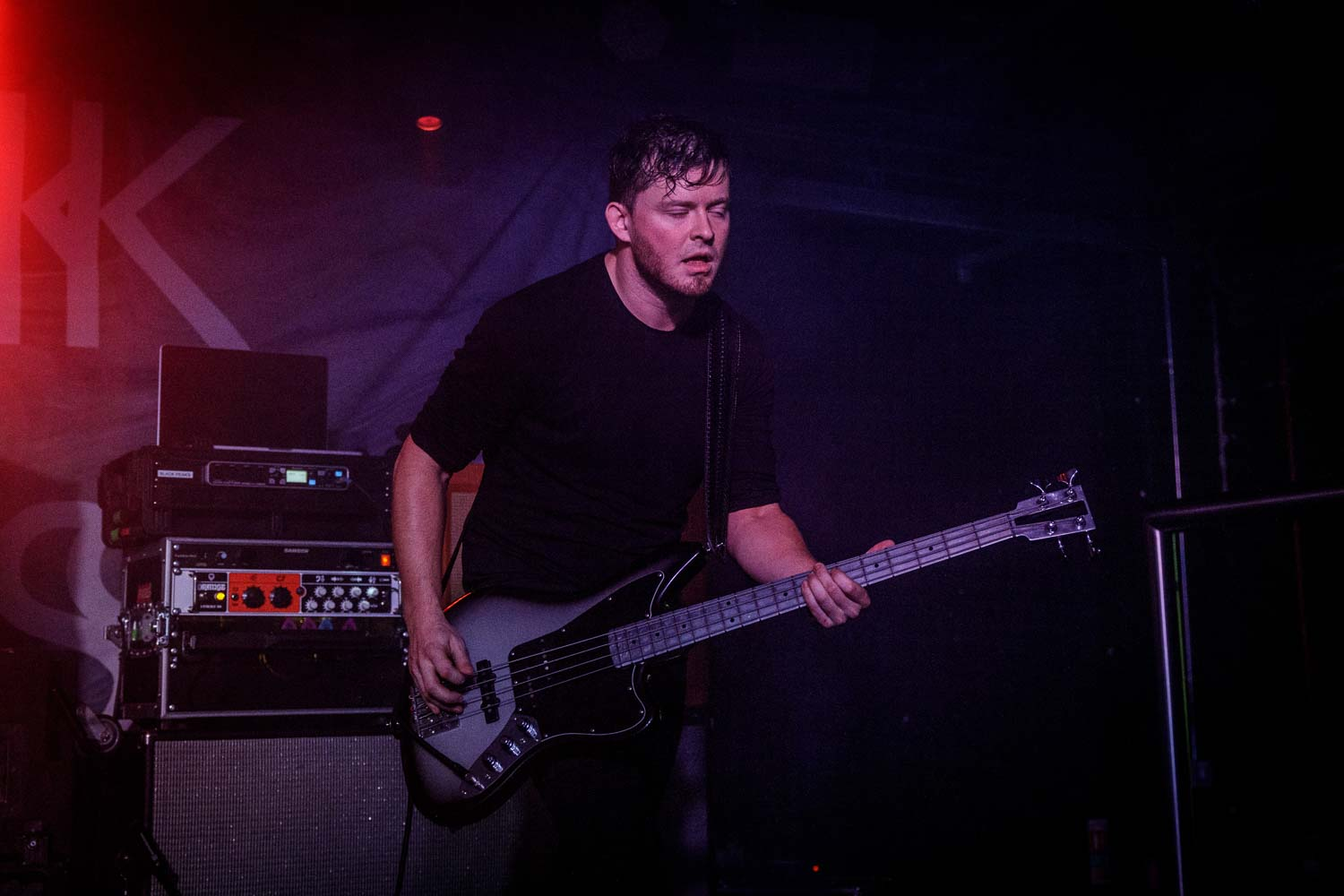 Black Peaks live at Academy Club in Manchester on October 17th 2018. ©Johann Wierzbicki | ROCKFLESH