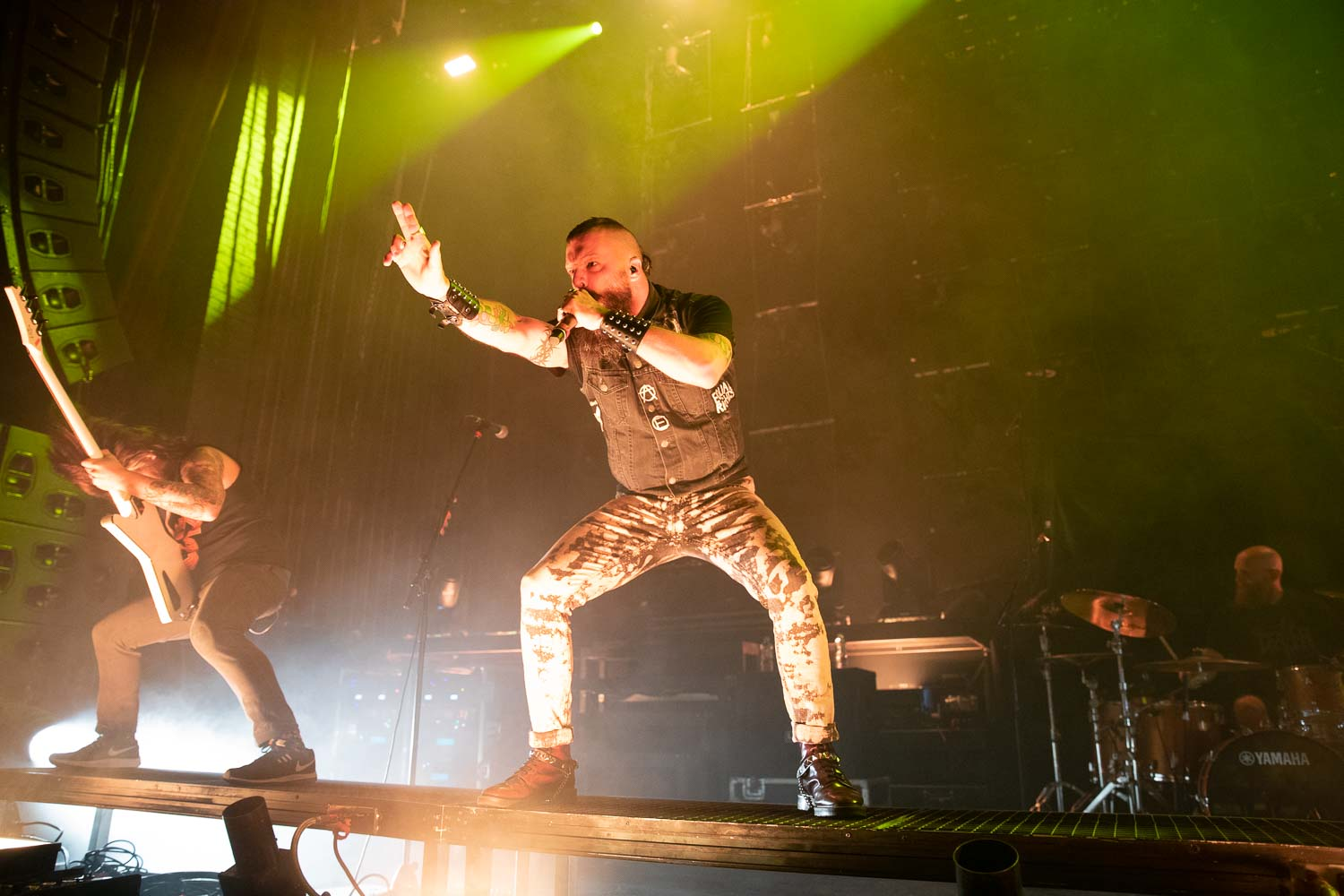 Killswitch Engage  live at the O2 Apollo in Manchester on January 29th 2019. ©Johann Wierzbicki | ROCKFLESH