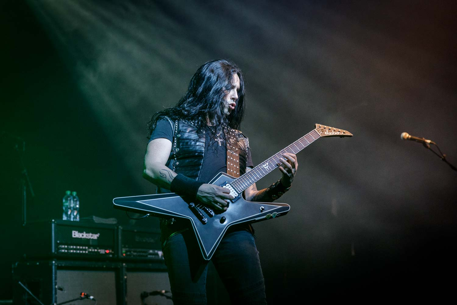 Gus G at the Academy in Manchester on February 11th 2019. ©Johann Wierzbicki | ROCKFLESH